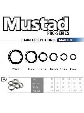 Split Ring MUSTAD MA033 SS
