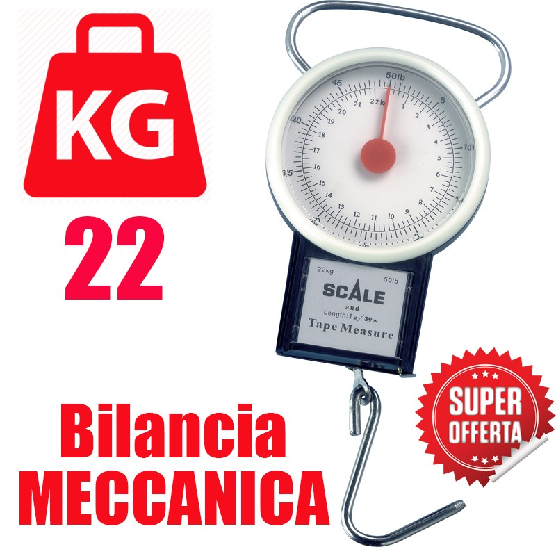 Bilancia Pesa Pescato 22KG