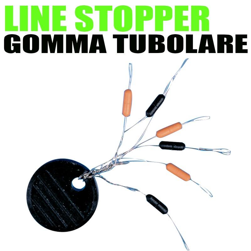 LINE STOPPER IN GOMMA TUBOLARE