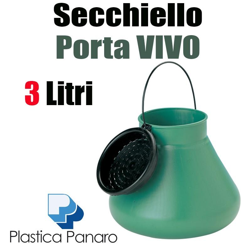 Secchiello Porta Vivo LT.3