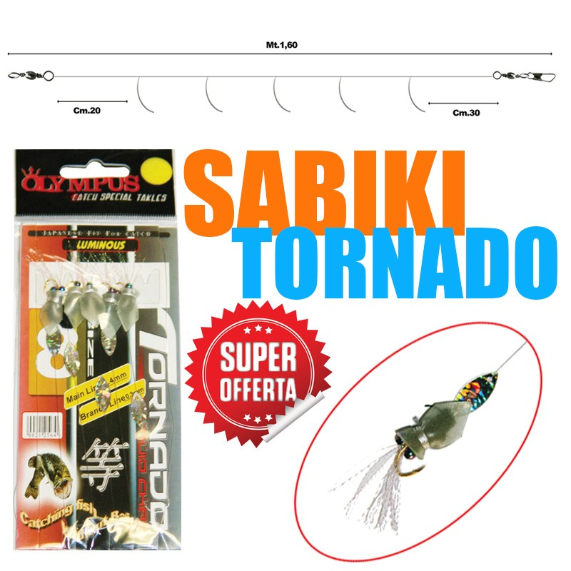 SABIKI TORNADO SQUID CHAIN