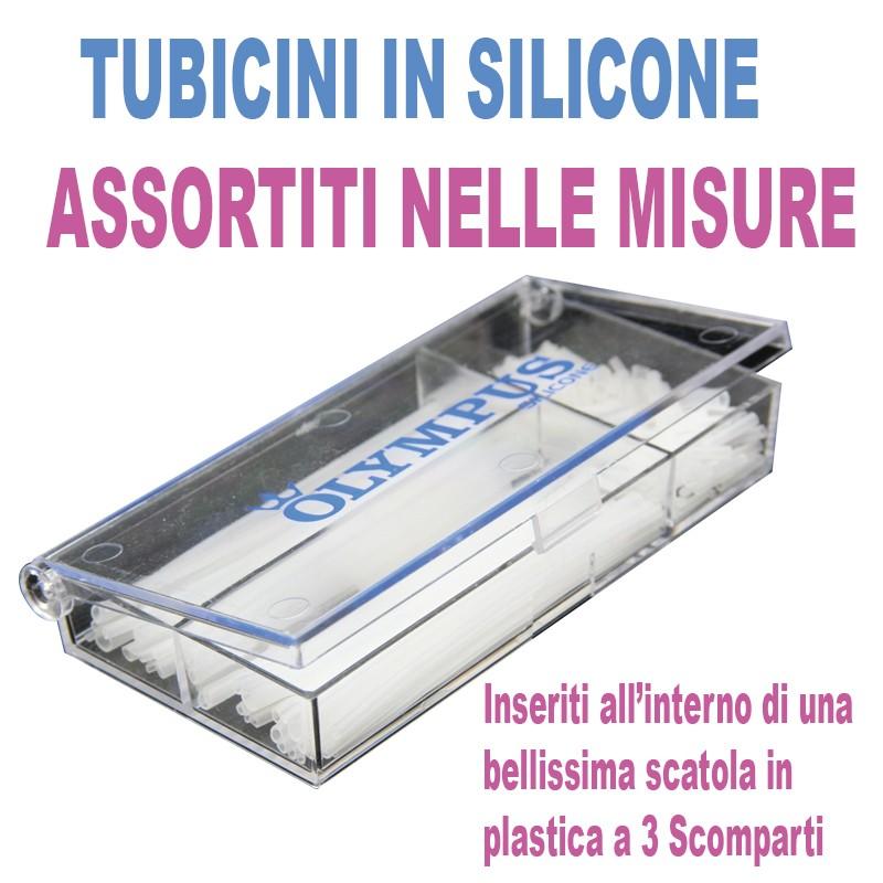 Scatola tubicini silicone...