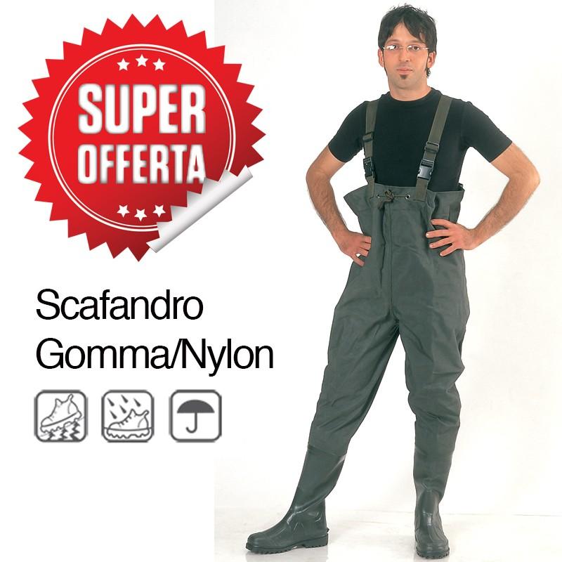 Scafandro Pesca Gomma/Nylon