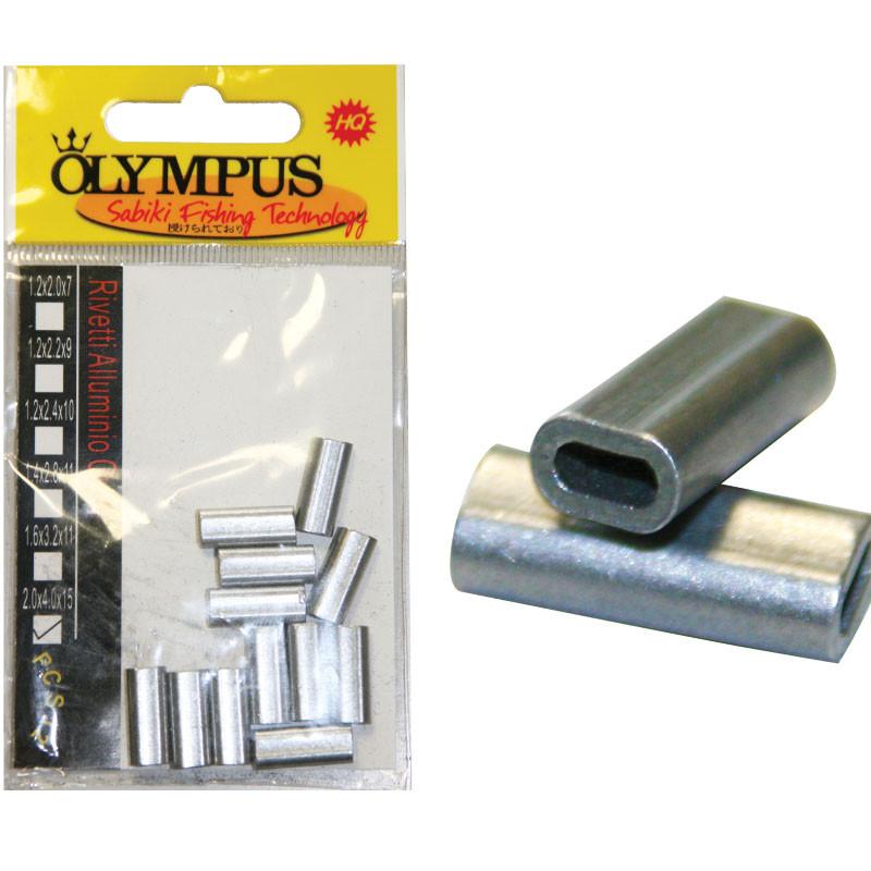 Rivetti in alluminio Ovali