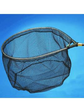 Testa ovale con rete gommata - Rif.524