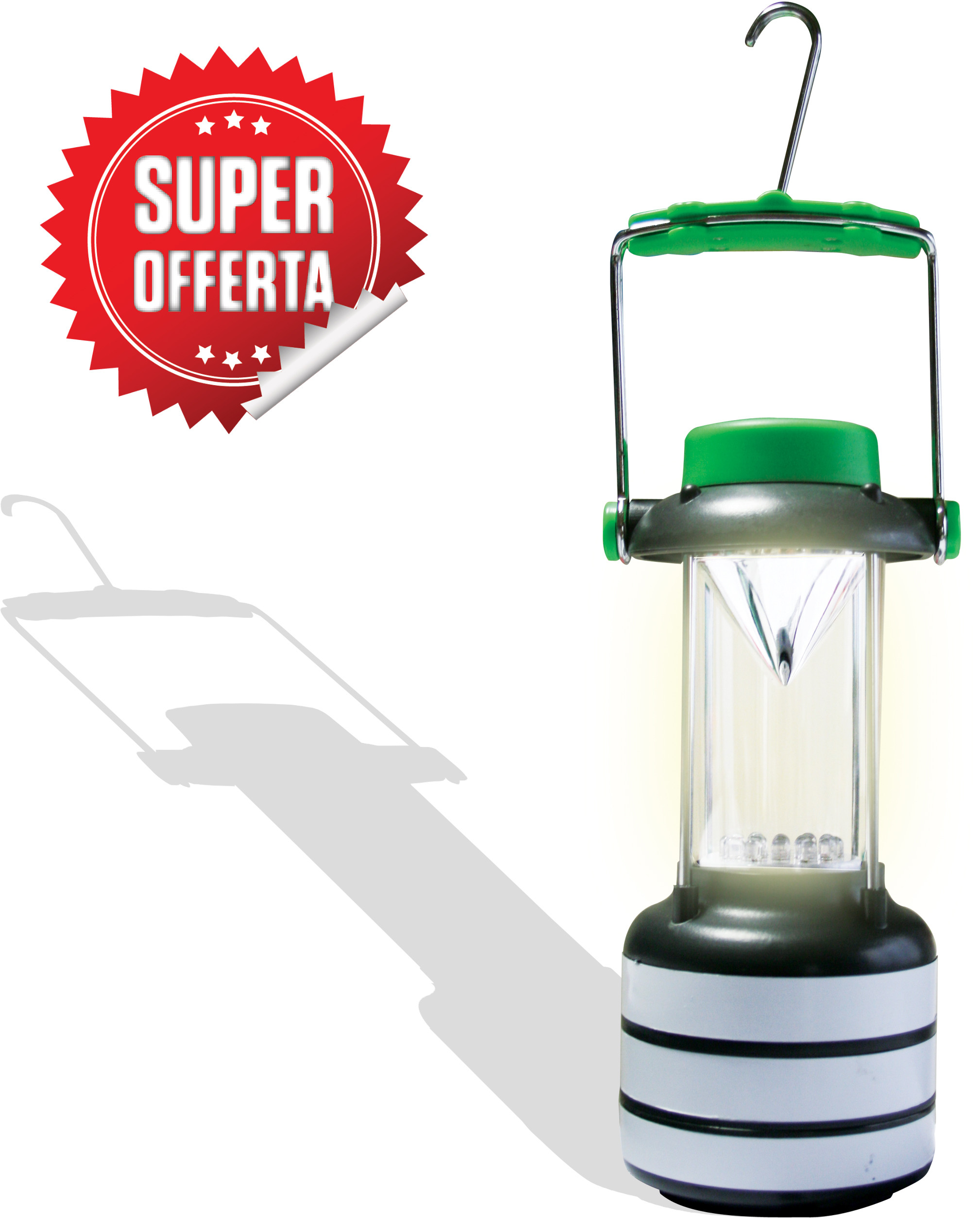 Lanterna 17 LED