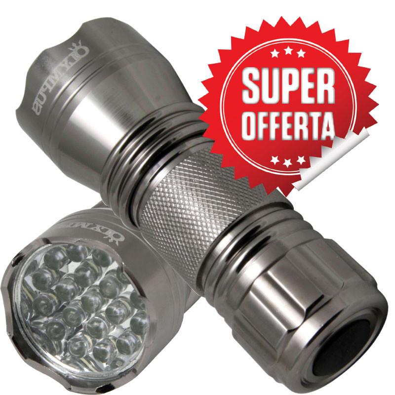 Torcia alluminio Mini 19 LED